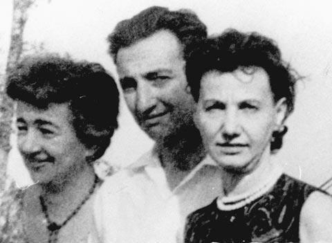 Vladka Meed, Hannah Frishoff, Marek Edelman, 1963