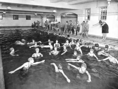 Swimming at Young Women's Hebrew Association of New York