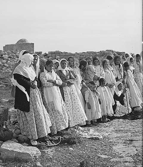 Samaritans of Nablus, 1900-1920, Women During Passover