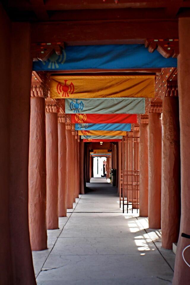 Santa Fe walkway