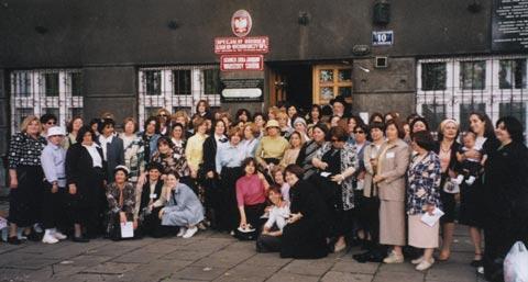 Re-dedication Ceremony of Sarah Schenirer's Gavestone, 2005