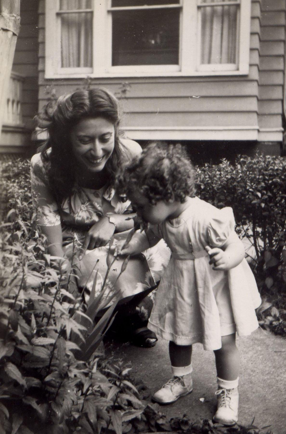 Sylvia Rothchild with niece Joan Rothchild - still image [media]