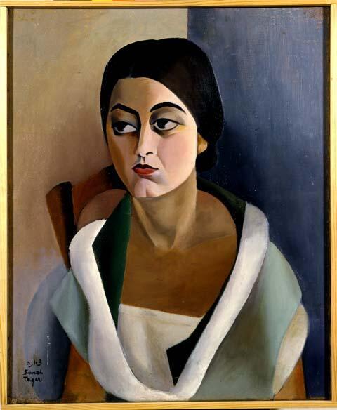 """""""Portrait of a Woman,"""" 1924"""