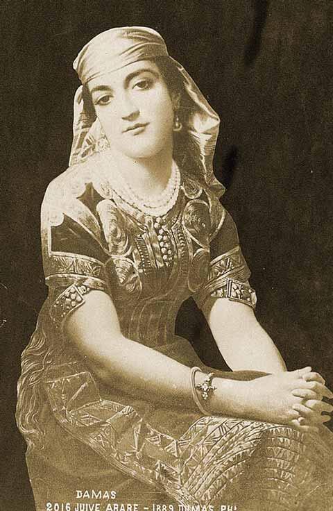 """""""Juive Arabe"""" (Jewish Arab), 1889"""