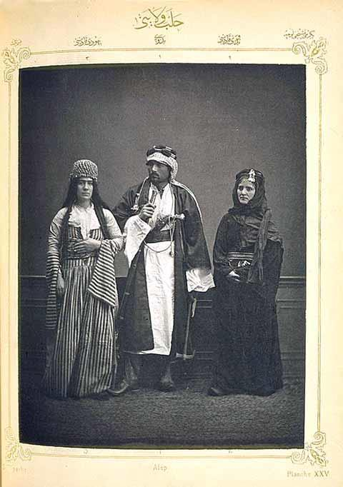 Jewish Woman, Bedouin Man, Bedouin Woman, 1873