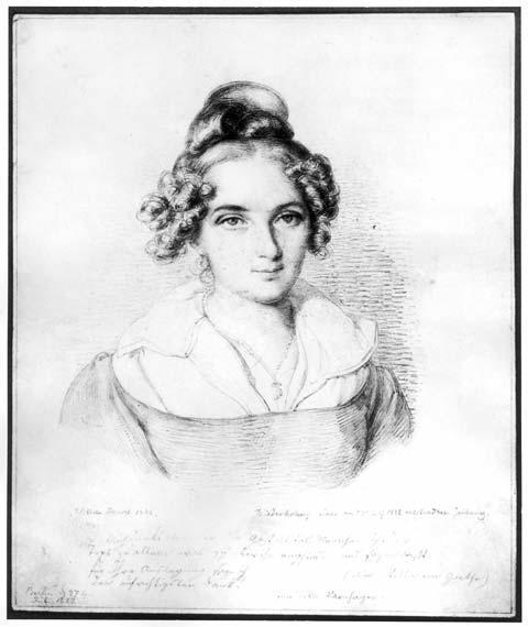 Rahel Levin Varnhagen, July 7, 1822, by William Hensel