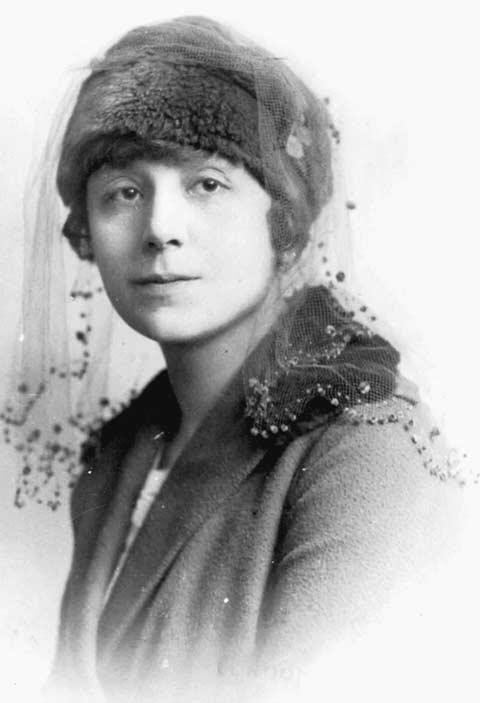 Vera Weizmann, April 24, 1918