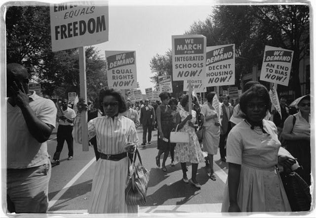 Women at the March on Washington