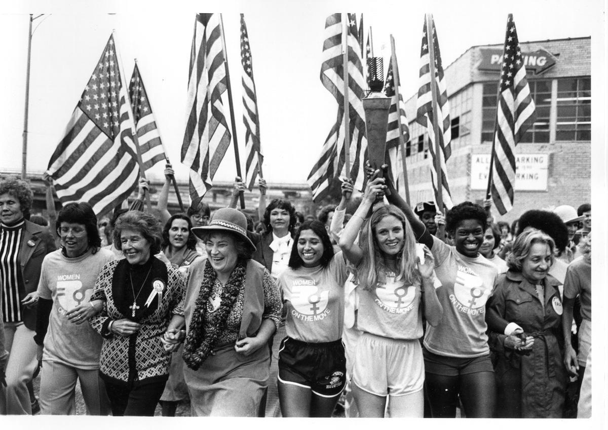 March into the National Women's Conference, 1977 - still image [media]
