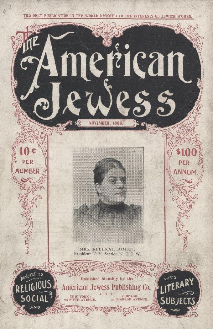 American Jewess cover