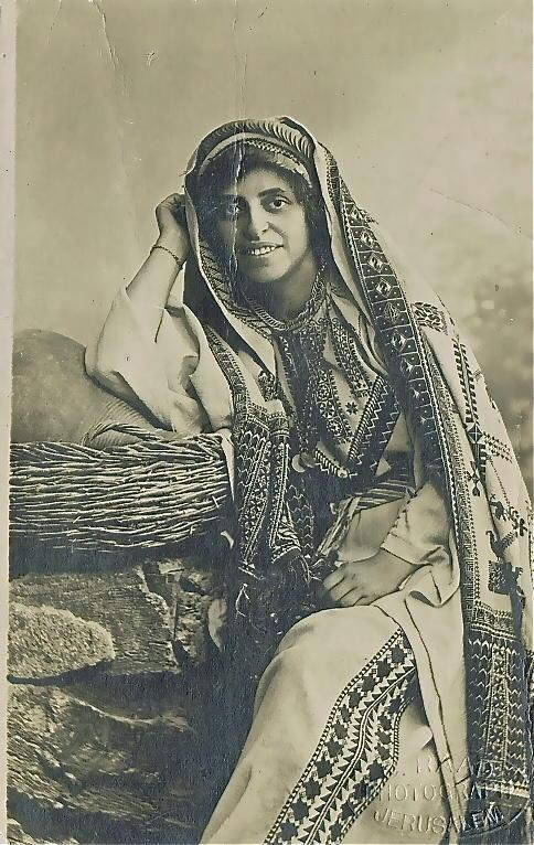 Sophie Rabinoff in Arab dress