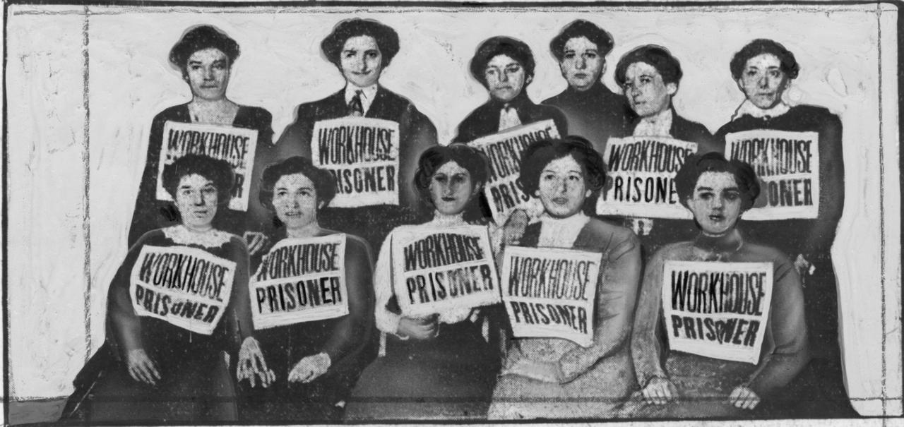 Arrested Shirtwaist Strikers