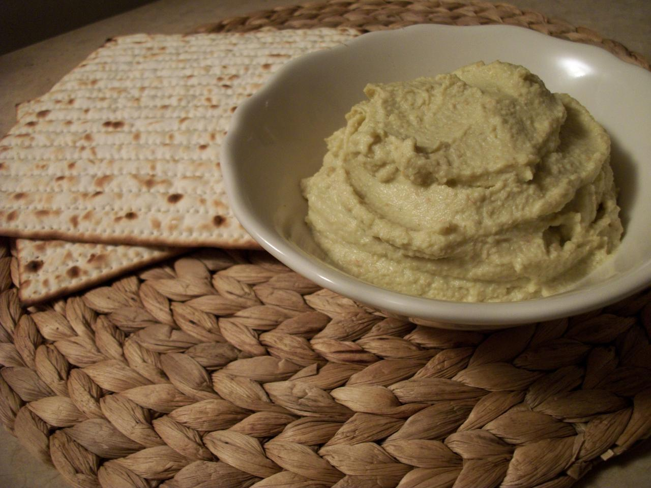 Artichoke Pesto with Matzah