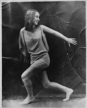 Anna Sokolow, 1927
