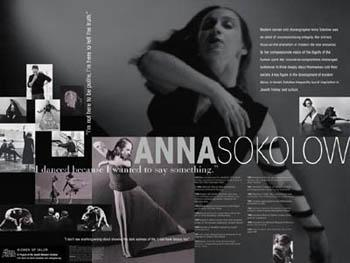 Anna Sokolow poster