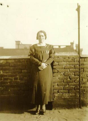 Anna Sokolow's Mother, Sarah Sokolow, circa 1920s