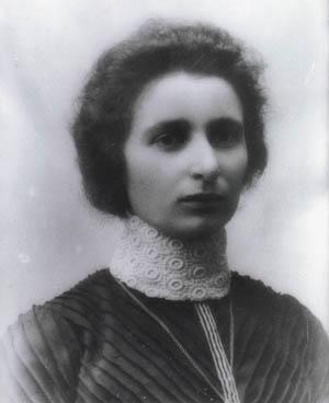Anna Sokolow's Mother, Sarah Sokolow, circa 1900s