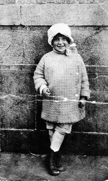 Bella Abzug as a child