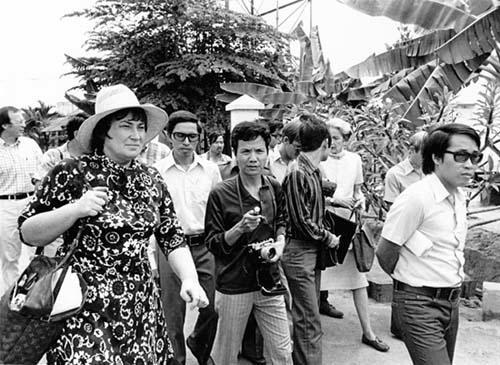 Bella Abzug on a Fact-Finding Mission in Cambodia, 1975