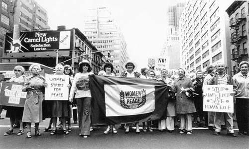 A Women Strike for Peace March in New York