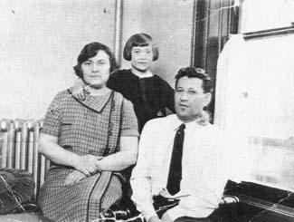 Bella Abzug with her Parents Esther and Emanuel Savitsy