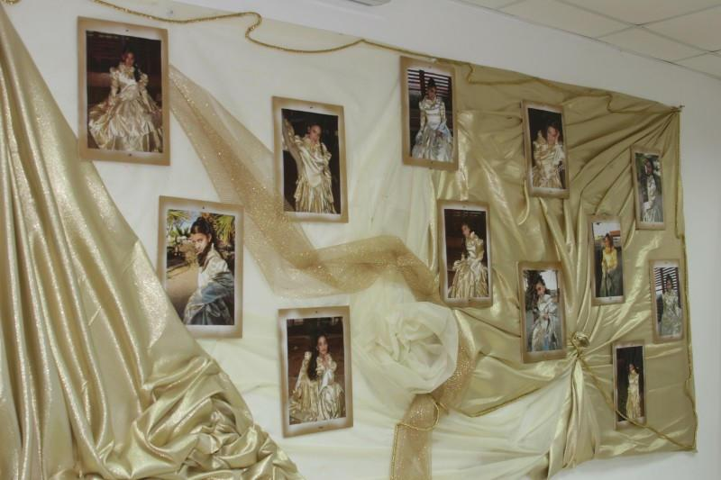 Decoration From a Bat Mitzvah of the Orphans in Netanya, Israel, 2008.