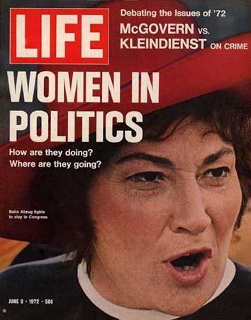 Bella Abzug on the cover of Life Magazine