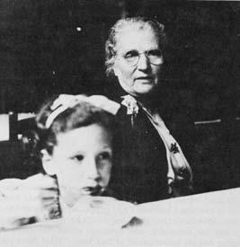 Barbara Myerhoff as a Young Girl with her Grandmother Sophie Mann