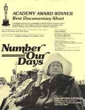 Poster from the Film Number Our Days