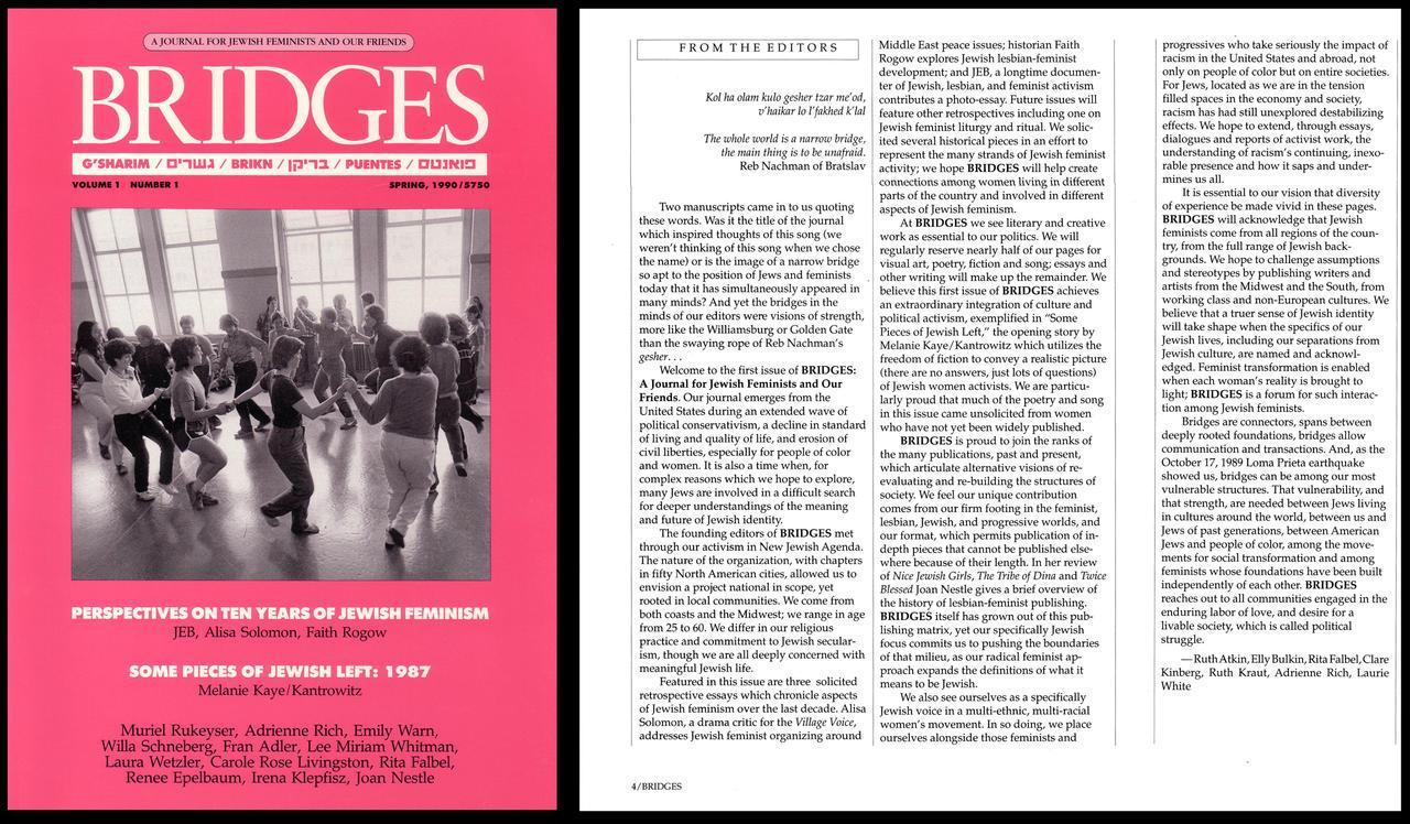 First issue of Bridges