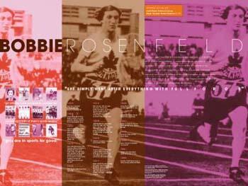 Bobbie Rosenfeld poster