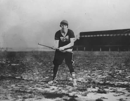Rosenfeld in Softball Uniform