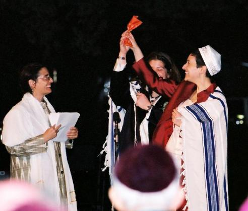 The wedding of Tamara Cohen and Gwynn Kessler, 2004