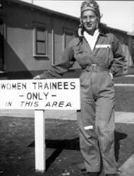 Selma Cronan at Avenger Field
