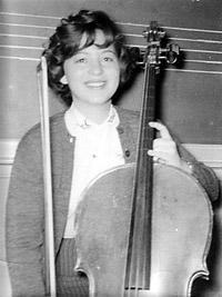 Barbara Dobkin with cello