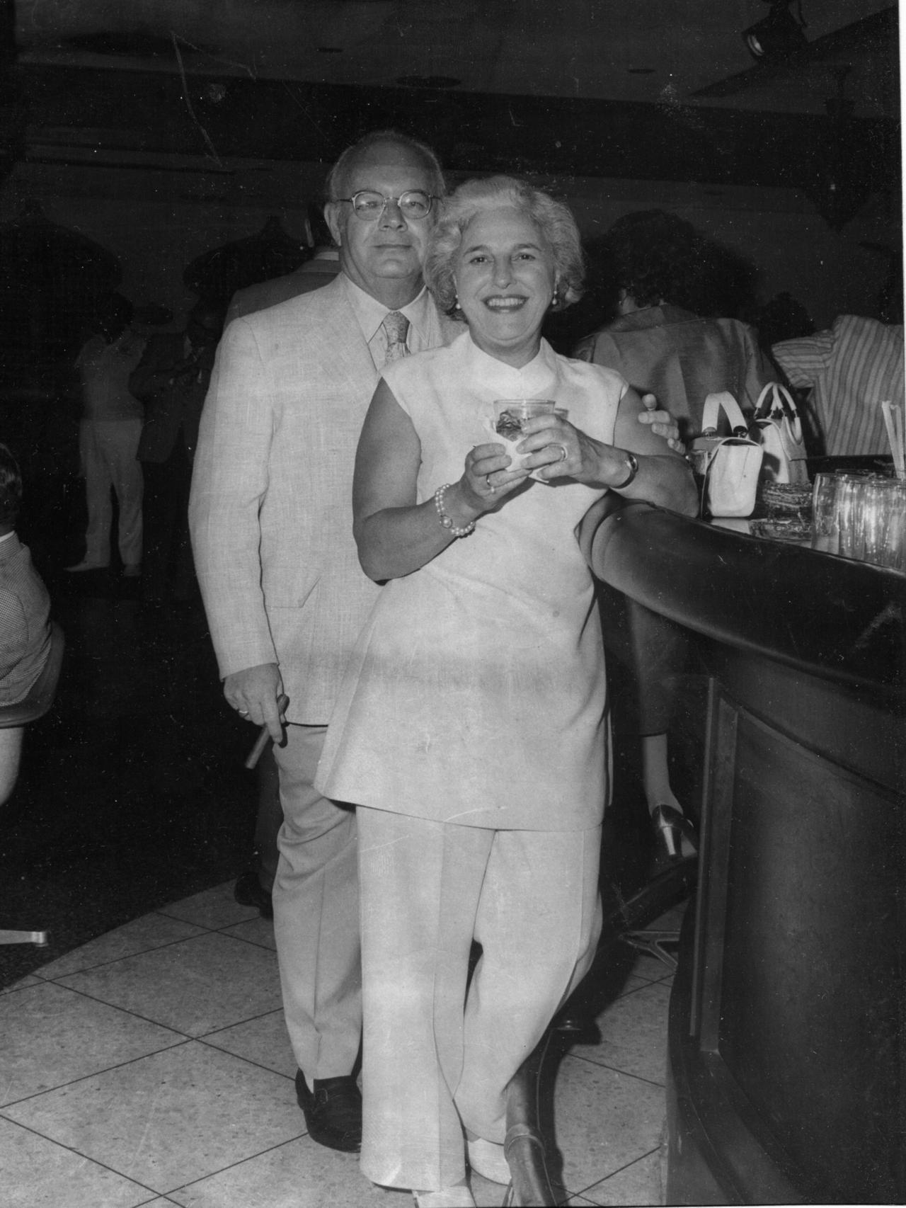 Edna and Gene in Puerto Rico