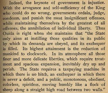 Excerpts from Goldman's essay, 'Anarchism:  What It Really Stands For'