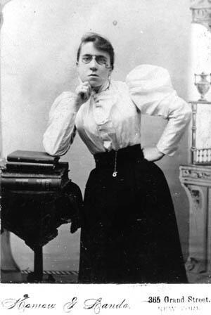 Emma Goldman, circa the early 1900s