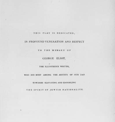 Dedication page for The Dance to Death