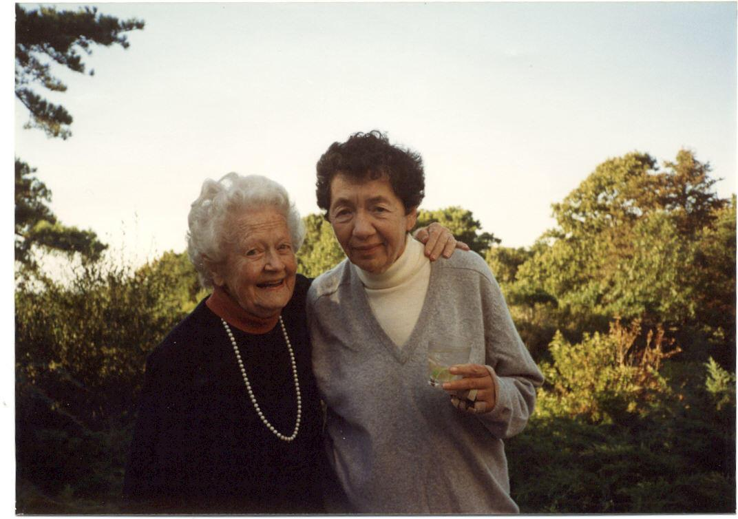 Eleanor D. Pearlson and Julie Green Sturge