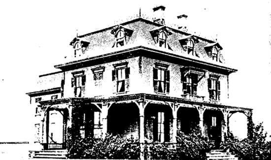 """The Lazarus' Newport Summer Home, """"The Beeches"""""""