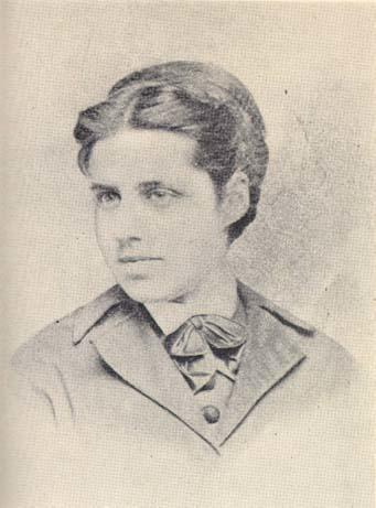 Emma Lazarus in bowtie outfit