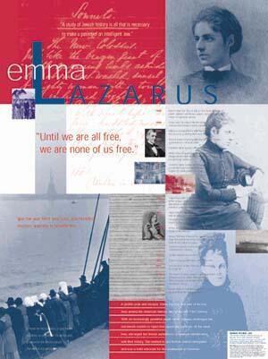 Emma Lazarus poster