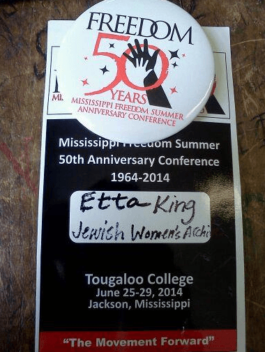 Etta's Freedom50 button