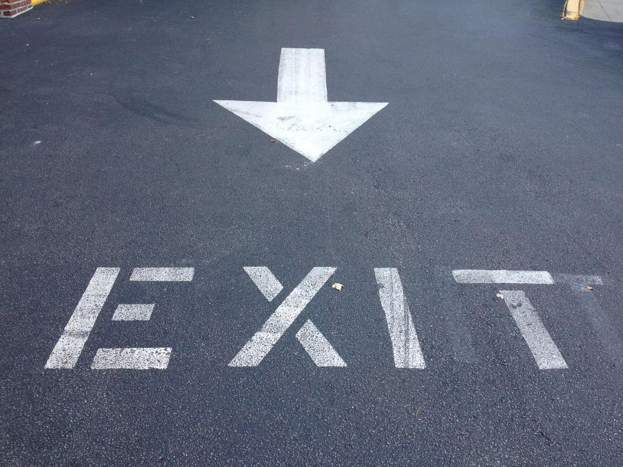 Image of Exit by G. Orcha