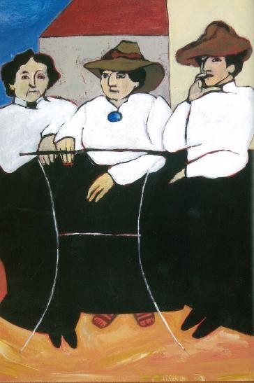 Claribel Cone, Gertrude Stein, and Etta Cone