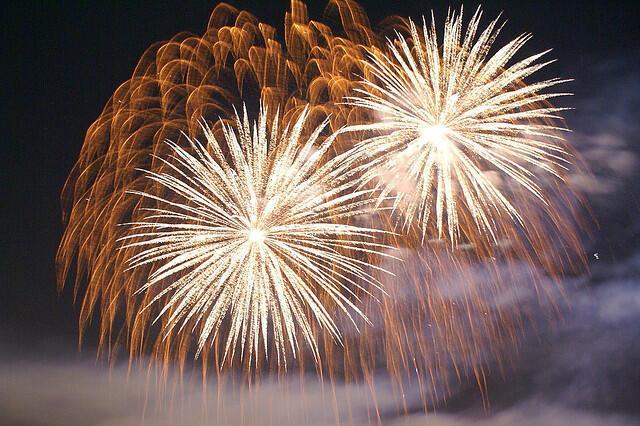 Fireworks by Karen Blaha (Vironevaeh)