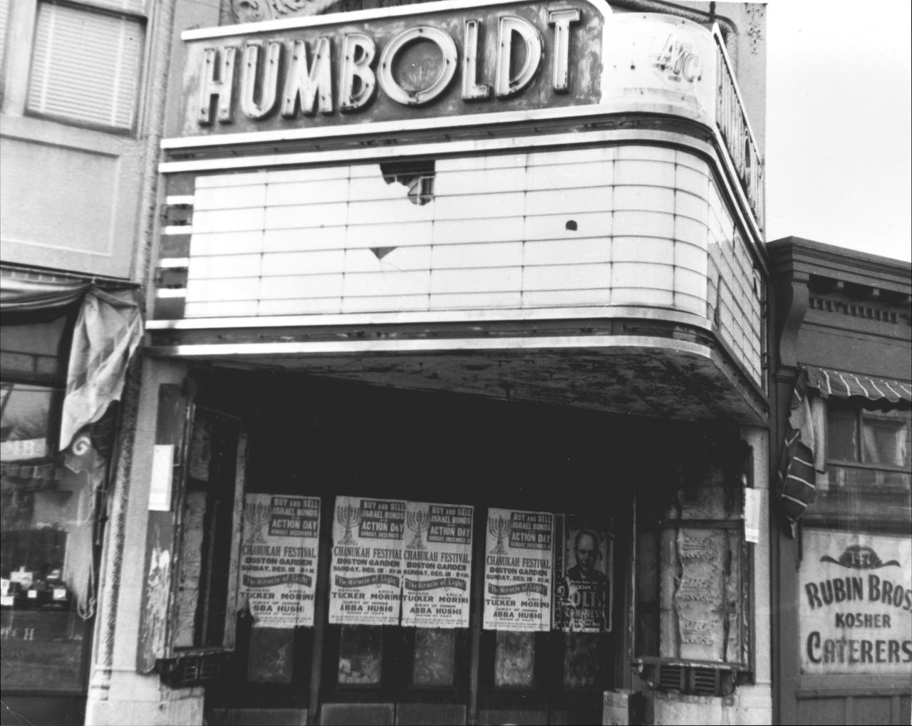 Freedom House - Humbolt Theater on Humbolt Avenue
