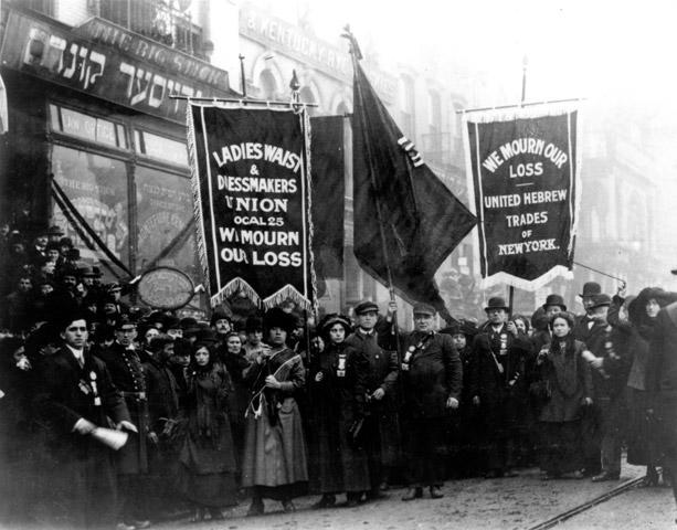 Triangle Shirtwaist Funeral March Photo