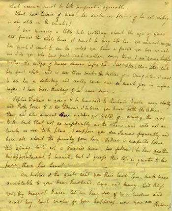 Letter from Rebecca Gratz to Maria Fenno, May 25, 1805